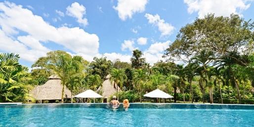 $257 -- Belize Eco Lodge w/Breakfast: 45% Off
