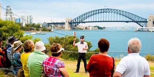 $109 -- For 2: Sydney Harbour Convicts & Castles Tour