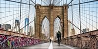 ¥62起 -- 4.5折 骑车穿越纽约Brooklyn大桥 美国最具历史的钢索吊桥别样体验
