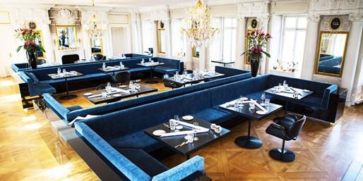 118 € -- 4-Gang-Menü vom Sternekoch mit Champagner & Kaviar