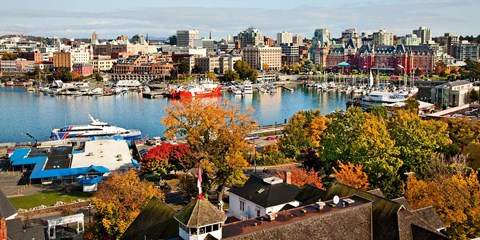 $109 -- Victoria Inner Harbour Hotel w/Parking, $90 Off