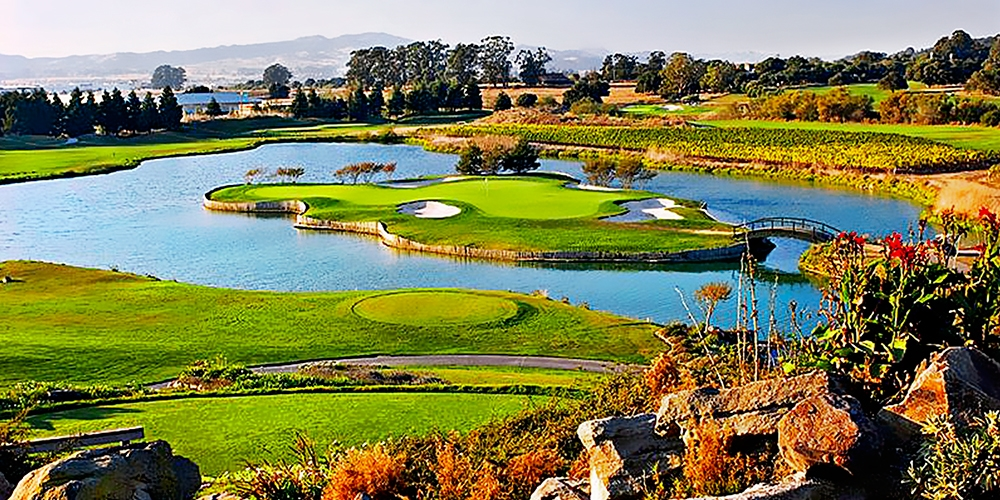 $99 -- Eagle Vines Napa: 18 Holes for 2 w/Cart, Reg. $178