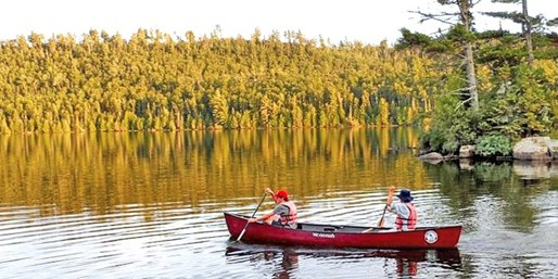 Boundary Waters Canoeing & Camping w/Gear & Meals, 50% Off