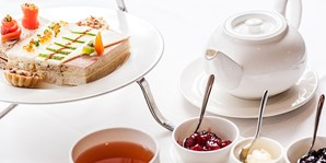£29 -- Celeb-Chef Dining Room: Afternoon Tea & Bubbly for 2