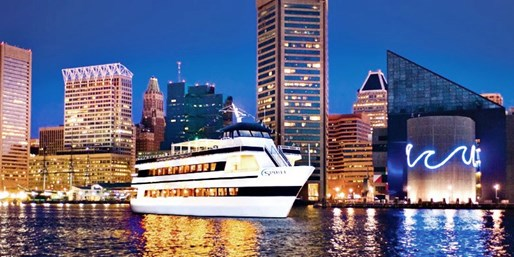 Dinner Cruises on CBS-Praised Spirit of Baltimore, Save 40%