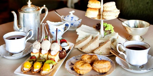 £29 -- Country-House Champagne Afternoon Tea for 2