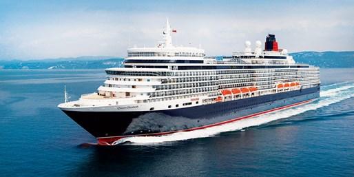 399 € -- Queen Elizabeth: 4 Tage Balkonkabine ab Kiel