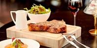 £39 -- 2-AA-Rosette Steak Dinner & Bubbly for 2 in Fulham