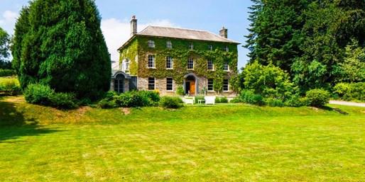 £159 -- Wales: 2-Night Manor Stay w/Cream Tea, Save 48%