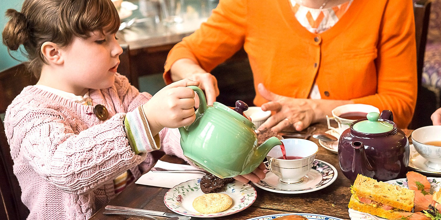 Zagat-Pick Alice's Tea Cup: Afternoon Tea for 2, 40% Off