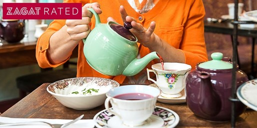 'Darling' Tea Time for 2 at Zagat-Pick Alice's Tea Cup