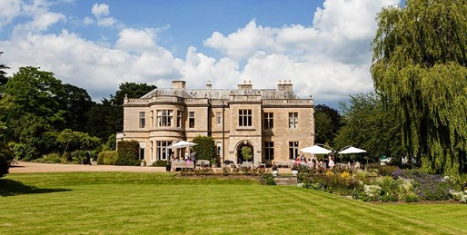 £89 -- Northamptonshire Manor-House Stay w/Meals, Save 47%