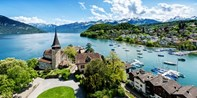 198 € -- Schweiz: Edles Hotel in Traumlage am Thunersee