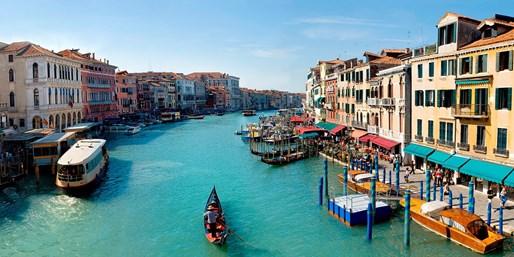 ¥1,082起 -- 6.4折 威尼斯Carlton酒店1晚 含早餐 位于威尼斯大运河