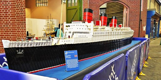 $12 & up -- Queen Mary Tours incl. New LEGO Exhibit, 50% Off