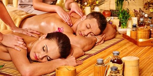 95 € -- Thailändische Öl-Massage: Entspannung für zwei, -27%