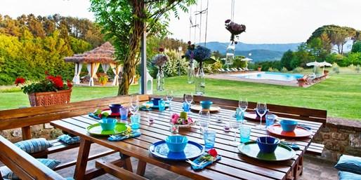 1111 € -- Kulinarische Reise in toskanische Villa & Kochkurs