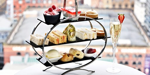 £39 -- Afternoon Tea for 2 with Manchester Skyline Views