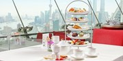 ¥168 -- 赏360°天际线 品玫瑰巧克力锅 新世界丽笙旋景餐厅双人下午茶
