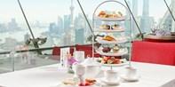 ¥168 -- 赏360°天际线 品玫瑰巧克力锅 新世界丽笙旋景餐厅双人全新下午茶 可升级浪漫起泡酒