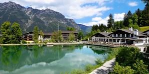 45 € -- Garmisch: Wellnesstag mit Massage im Spa am See