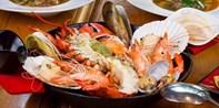 ¥458 -- 龙虾来袭!西班牙灵魂海鲜饭 Bocado双人特选美味 含特色桑格利亚酒