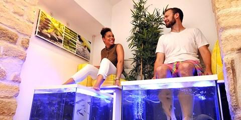 29€ -- Offre duo : Sieste Massante ou Fish Spa, -50%