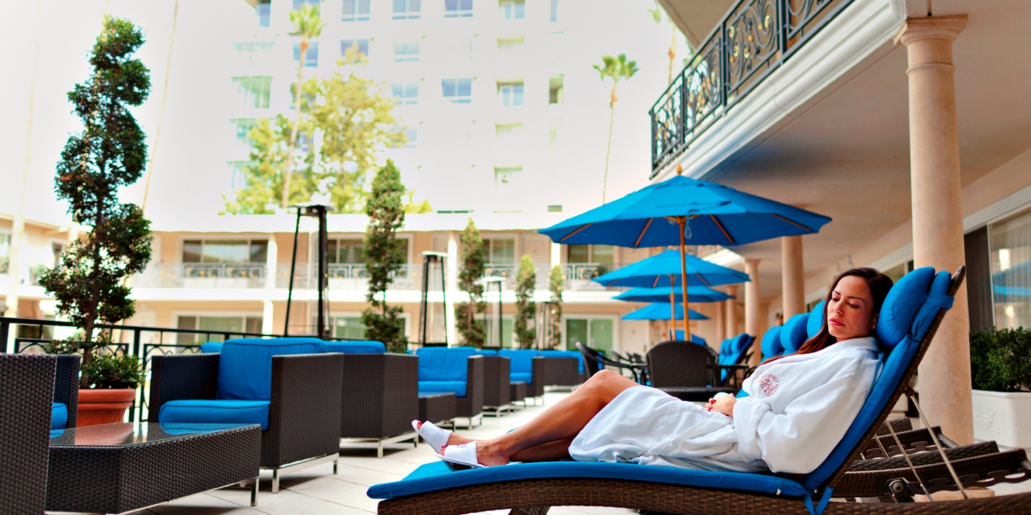 $59 -- Spa Day at Beverly Hills Plaza Hotel, 75% Off