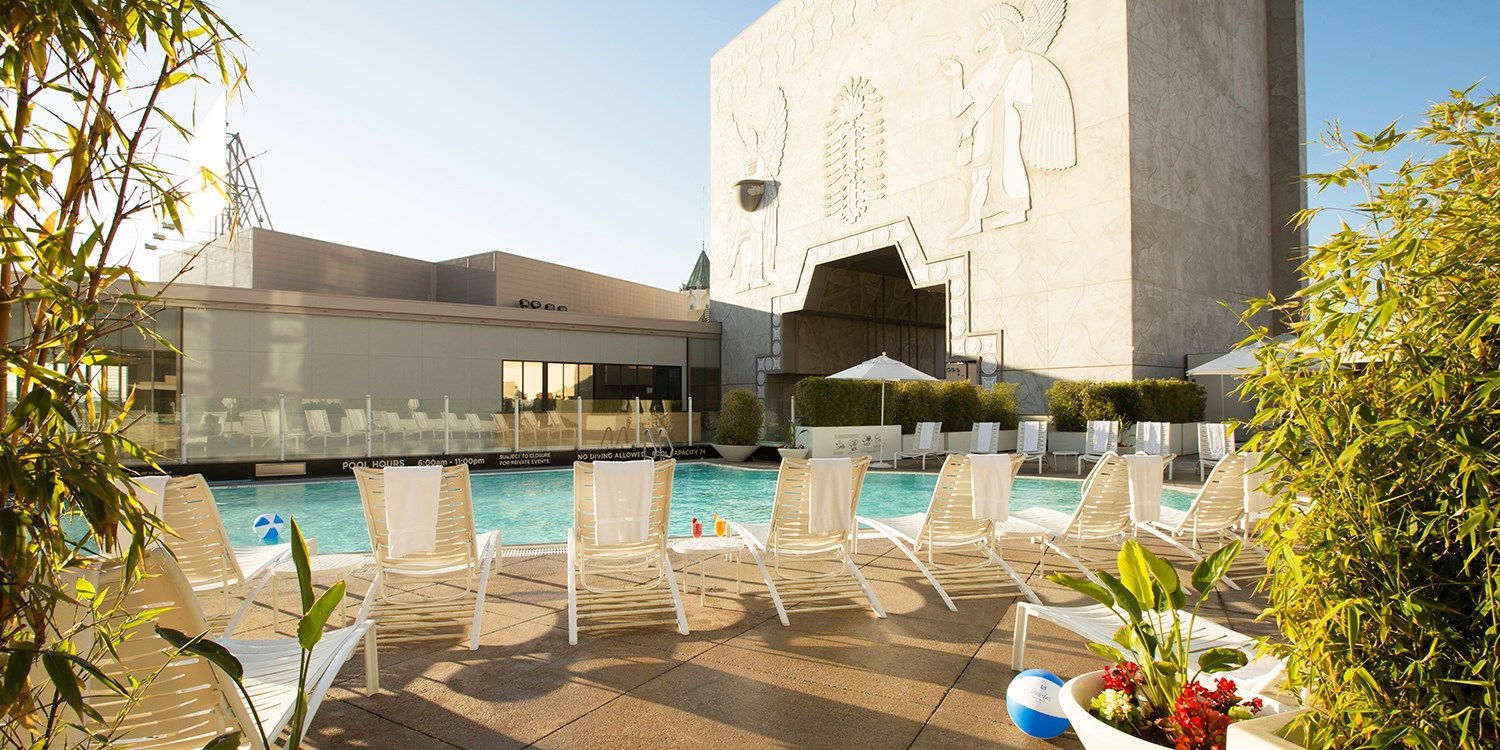 Loews Spa Day incl. Rooftop Pool w/Views of Hollywood Sign