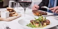 Biscayne Steak Sea Wine: Dinner for 2, 40% Off
