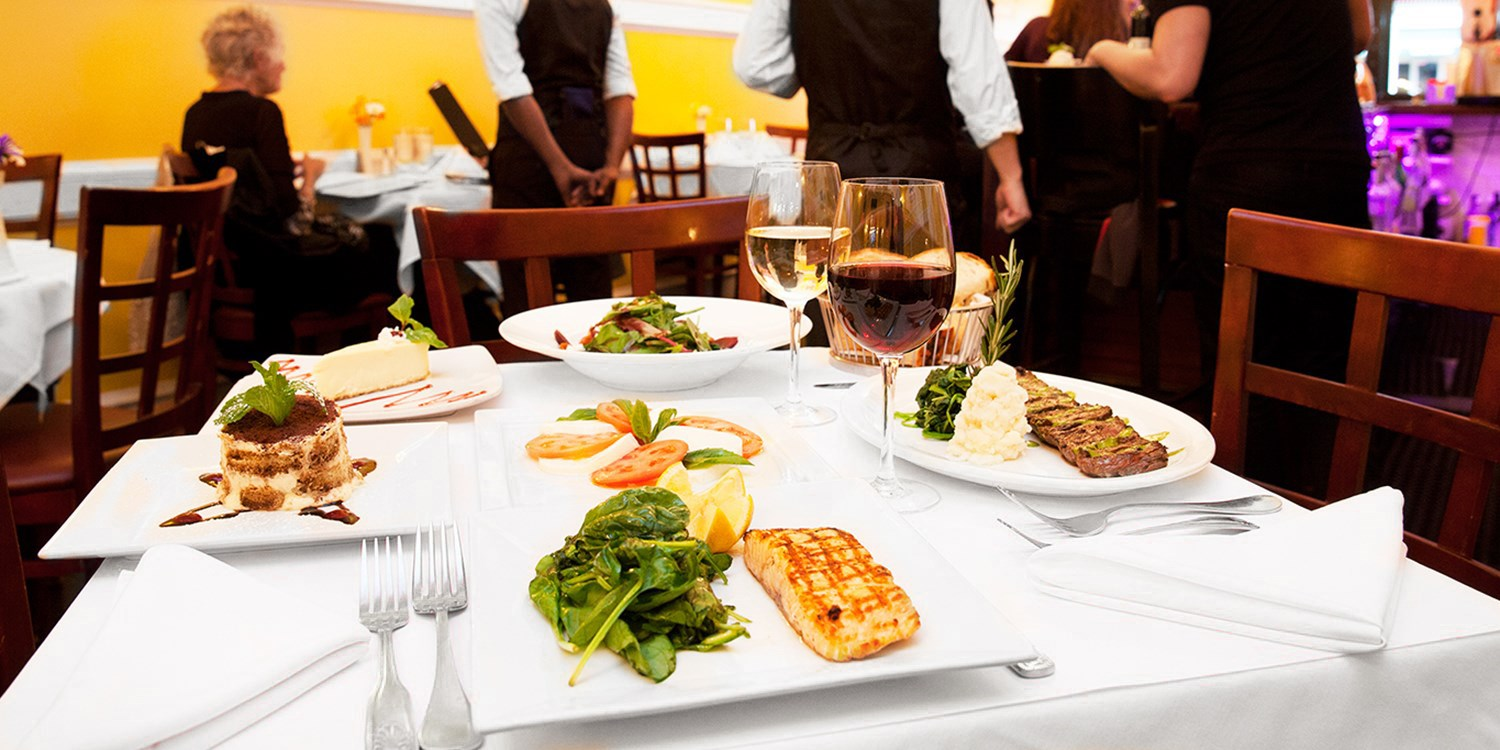 $49 -- Member-Fave Italian Dining for 2 w/Wine, 50% Off