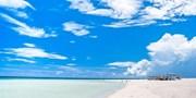 """¥28,400 -- 関西発 沖縄離島""""久米島""""リゾート3日間 はての浜観光+朝食付"""