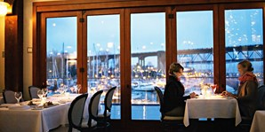 $59 -- Bridges: 3-Course Dinner for 2 on Granville Island