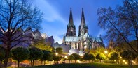 9,50 € -- Köln erkunden auf einer Nachtwächter-Fackeltour