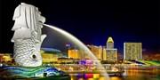 ¥2,400起 -- 升级新航A380 含税!新加坡4日机票/4-5星半自由行 赠海洋馆+滨海湾等