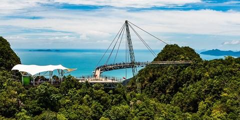 ¥4,380 -- 暑期特惠!兰卡威+吉隆坡6日自由行 亲子购物皆宜 双人订送签证