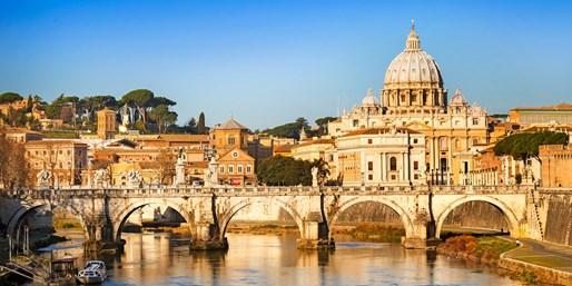 ab 233 € -- 4 Tage Rom im Lifestyle-Hotel mit Flug, -32%