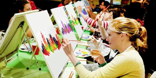 $25 -- Painting Parties at City Bars Nationwide, Reg. $45