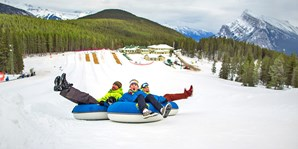$45 -- Mt. Norquay: Tubing & Sightseeing Lift for 2, $55 Off