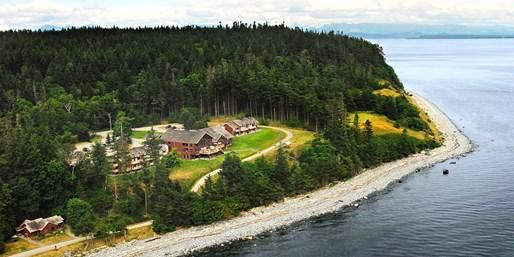 $199 -- Oceanfront Cottages on Quadra Island, Reg. $550