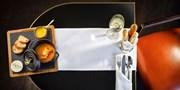 75 € -- Hilton Wien: Menü & Wein für 2 im Hauben-Restaurant
