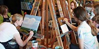 $25 -- North Vancouver Beginner's Painting Class, Half Off