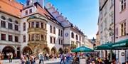 """13€ -- Rundfahrt """"München und sein Bier"""" mit Bierprobe, -50%"""
