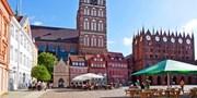 89 € -- Ostsee: 3 Tage Stralsund mit Menü & Meerblick, -43%