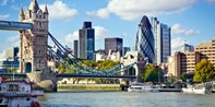 £39 -- Champagne Afternoon Tea for 2 with Thames Views