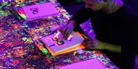 Neon Painting Party, Art Workshops or Date Night w/Bubbly