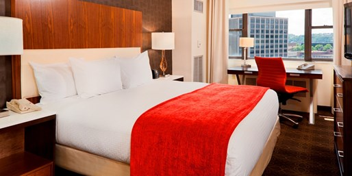$119 -- Downtown Pittsburgh Hotel incl. Weekends, 45% Off