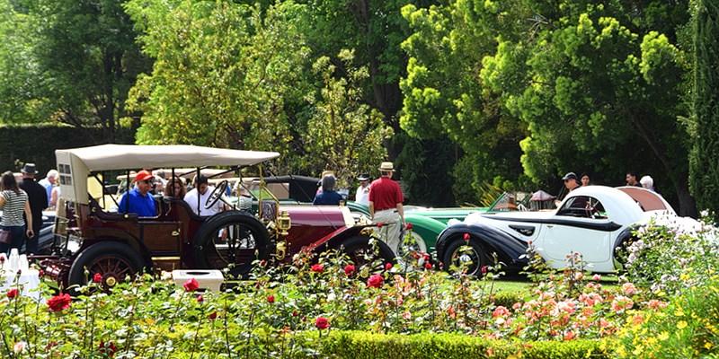 Four Seasons Westlake: 'Downton Abbey' Luxe Auto Show w/Tea