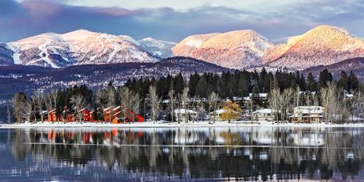 $265 -- Montana 2-Night Lake Escape w/Spa Credit,$170 Off