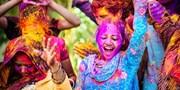 £945pp -- India: Holi Festival of Colour Group Tour w/Flts